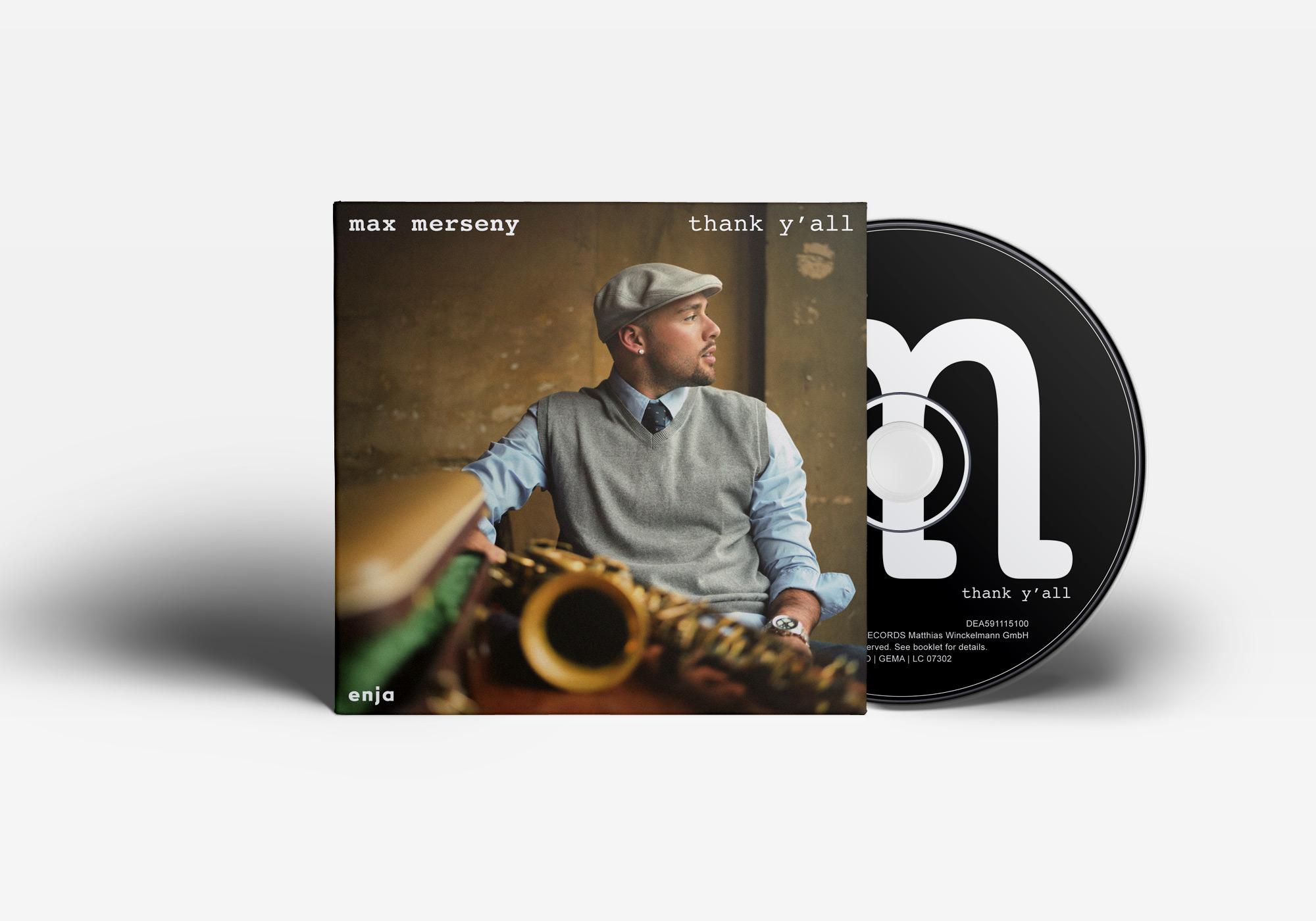 """Das Album """"thank y'all"""" von Max Merseny"""