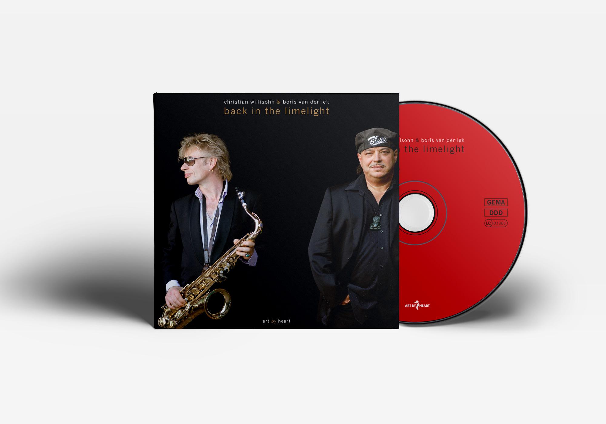 """Das Album """"Back In The Limelight"""" von Christian Willisohn"""