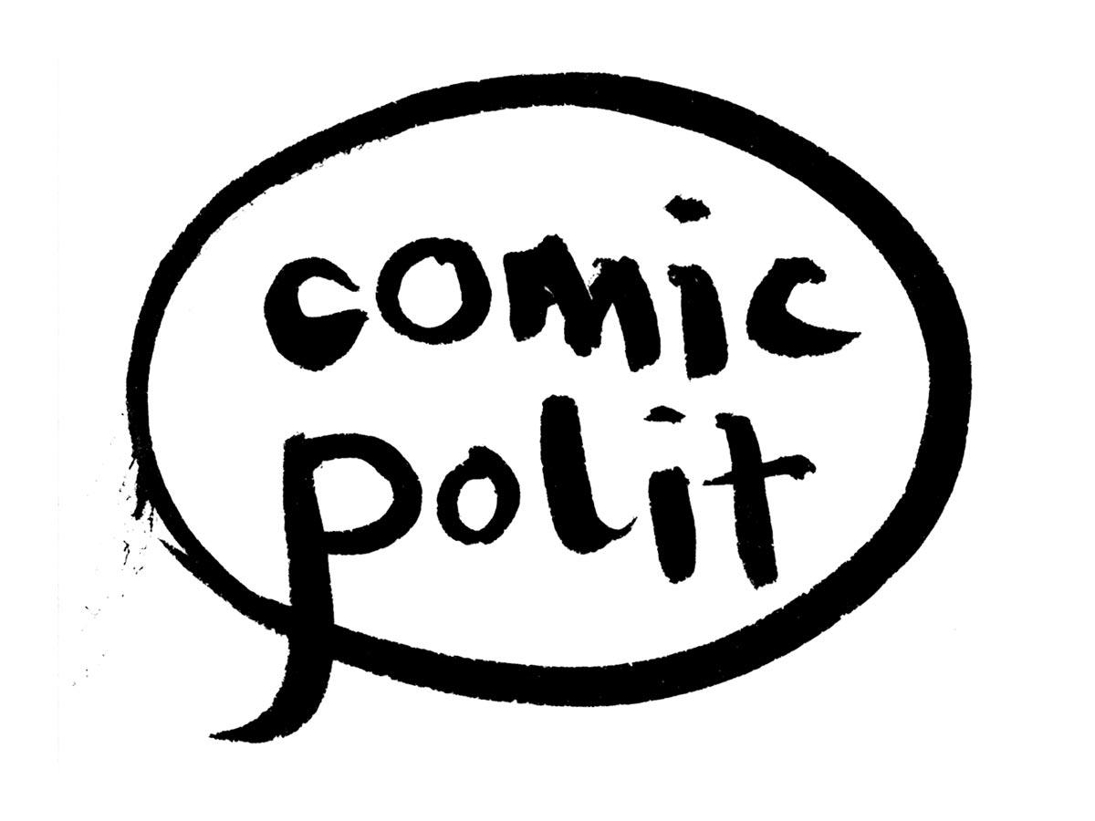 Logo comicpolit.de