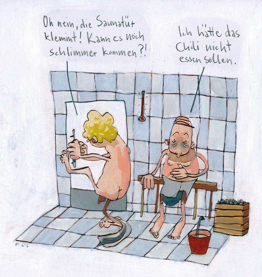 FlorianScheuererInDerSauna